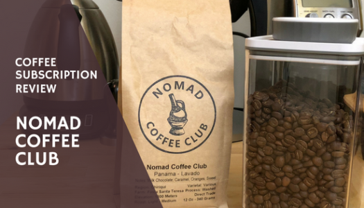 Nomad Coffee Club – Coffee Subscription Review