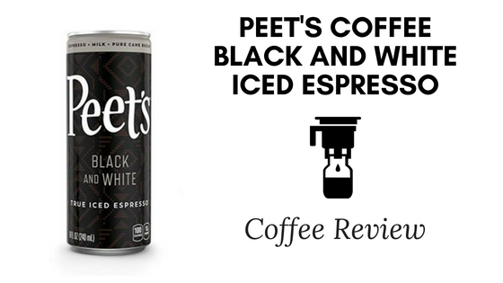 Peet's Coffee Black and White Iced Espresso Review