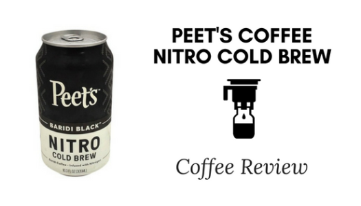 Peet's Coffee Nitro Cold Brew Review