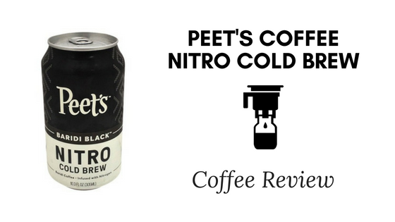 Peet's Coffee Nitro Cold Brew Coffee Review