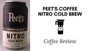 Peet's Coffee Nitro Cold Brew Review