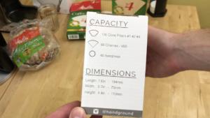 Handground Coffee Filter Holder Capacity