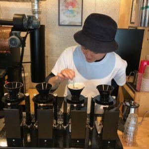 Coffee barista Tokyo Japan