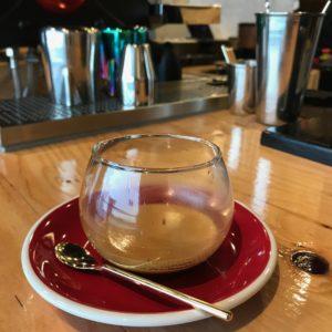 coffee glass cup Heart Light Coffee Tokyo Japan