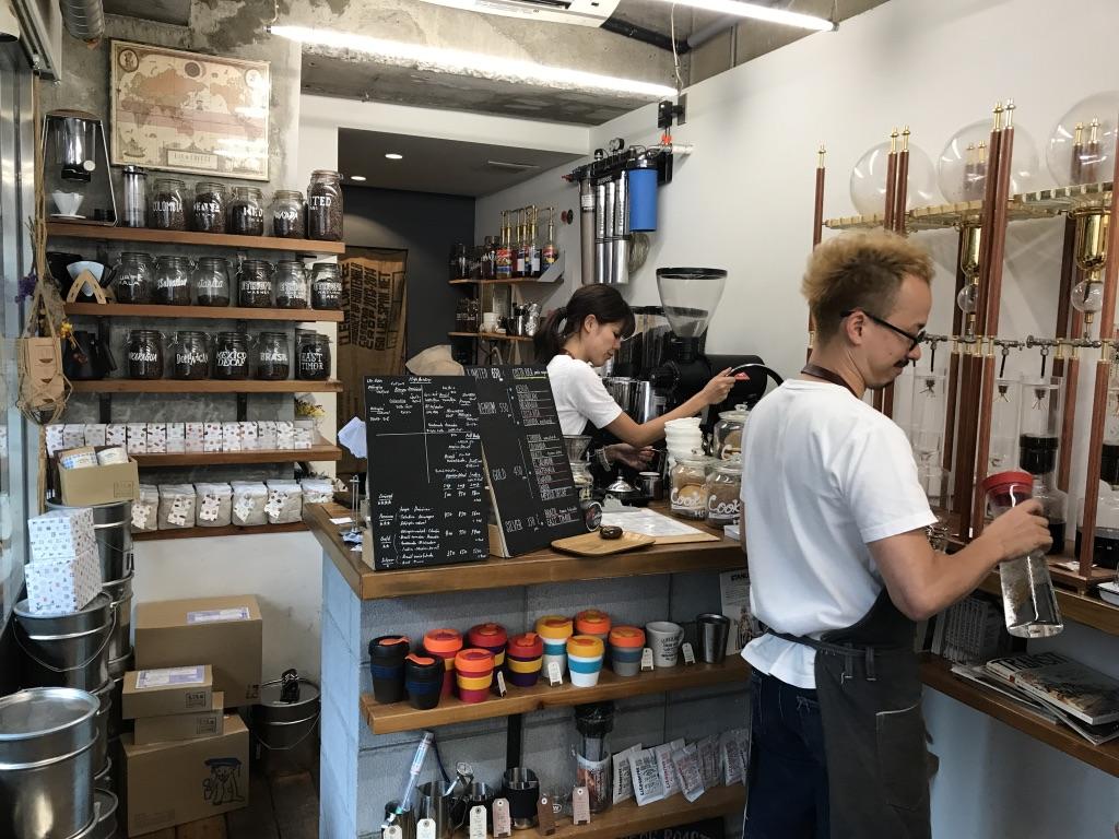Inside Lilo Coffee Roasters