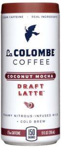 La Colombe Coconut Mocha Draft Latte