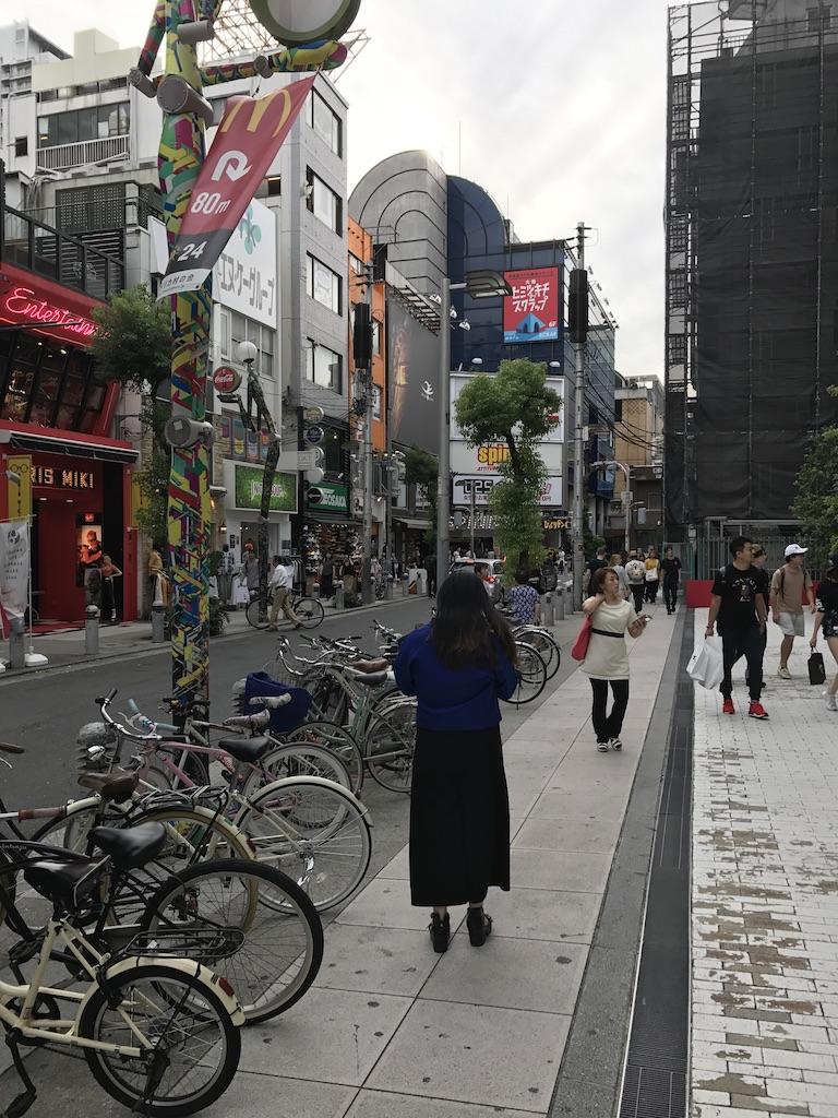 Amerikamura Neighborhood