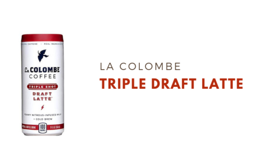 La Colombe Triple Shot Draft Latte Review
